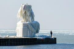 На крае холодной воды Стоковая Фотография RF