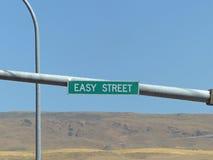 На легкой улице Стоковое Изображение