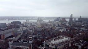 Над Ливерпулем Стоковые Изображения RF