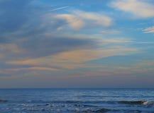 над морем облаков Стоковое Изображение RF