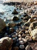 На море Стоковые Фото