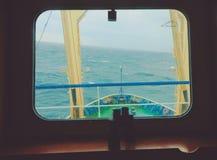 На мосте корабля Стоковое Изображение RF
