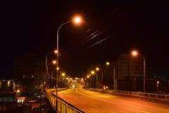 На мосте Стоковое Фото