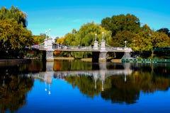 Над мостом озера Стоковое Фото