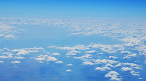 над небом Стоковое Изображение RF