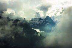 над небом Стоковые Фото