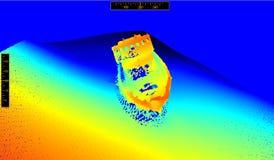 На дне моря Стоковое Изображение RF