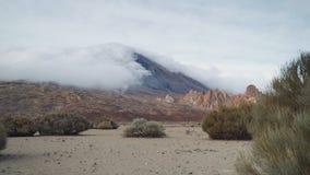 На ноге вулкана Teide Стоковые Изображения RF