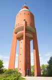 На ноге старой водонапорной башни город Hanko Стоковое Фото