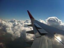 над облаками Стоковое Изображение