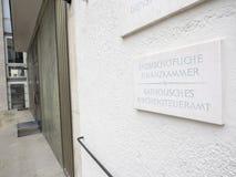 Налоговый орган Мюнхен католической церкви Стоковые Изображения RF