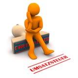 Налог на продажу штемпеля Manikin Стоковое Изображение RF