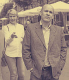 Надоеданный зрелый человек Стоковая Фотография