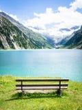 На озере Стоковое Изображение