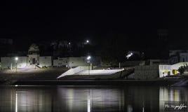 На озере Pushkar Стоковое Фото