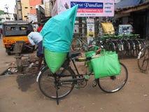 На дороге в Индии Стоковые Изображения RF