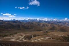 На дороге к базовому лагерю Эвереста Стоковая Фотография RF