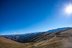 На дороге к базовому лагерю Эвереста Стоковое Изображение