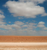 На дороге к мертвому морю, Джордан, Ближний Восток Стоковое фото RF