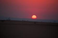 На дороге к мертвому морю, Джордан, Ближний Восток Стоковая Фотография