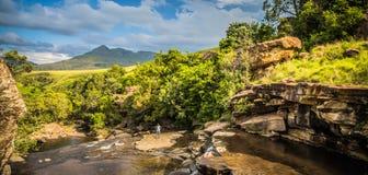 На дороге к Drakensberg Стоковые Изображения