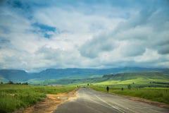 На дороге к Drakensberg Стоковая Фотография