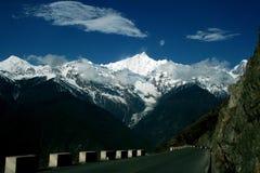 На дороге к Shangrila, Китай Стоковое Изображение RF