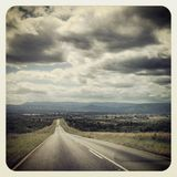 На дороге Стоковые Изображения RF