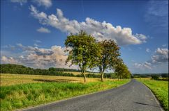 На дороге Стоковые Изображения