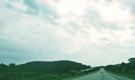 На дороге Стоковое фото RF