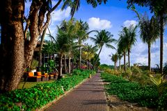 На острове погоды Бали всегда хорошей! стоковое изображение rf
