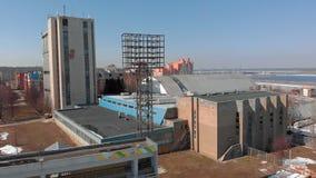 На открытом воздухе стадион весной сток-видео