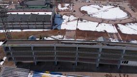 На открытом воздухе стадион весной видеоматериал