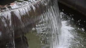 На открытом воздухе фонтан видеоматериал
