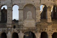 Надпись к Папе Венедикту на стенах Colosseo Стоковые Изображения