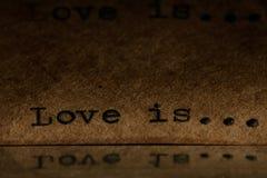 Надпись на машинке стоковая фотография rf