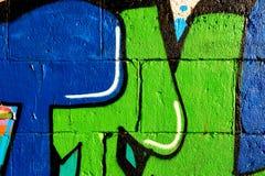 Надпись на стенах на стене Стоковое Фото