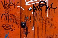 надпись на стенах предпосылки Стоковое Изображение RF
