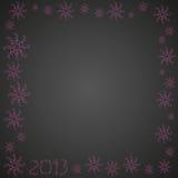 Надпись 2013 рождества Стоковые Фотографии RF