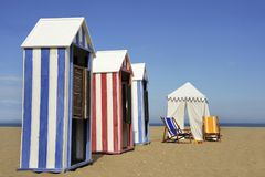 На пляже Стоковые Изображения RF