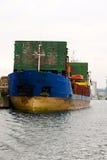 На портовом районе Стоковое Фото