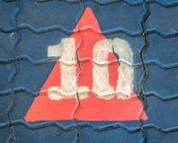 10 на поле Стоковые Фотографии RF