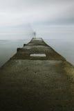 На пристани Стоковое Изображение