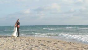 На прогулке моря видеоматериал