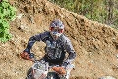 На ралли Enduro края 2016 трудном Стоковые Изображения RF