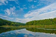 На реке стоковое изображение rf