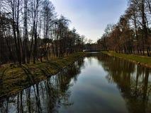 На реке Стоковые Фото