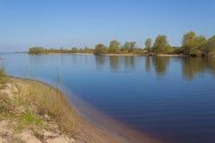 На речном береге Стоковое Фото