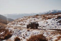 Над снегом Стоковые Изображения RF