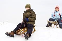 На снежке Стоковые Изображения RF